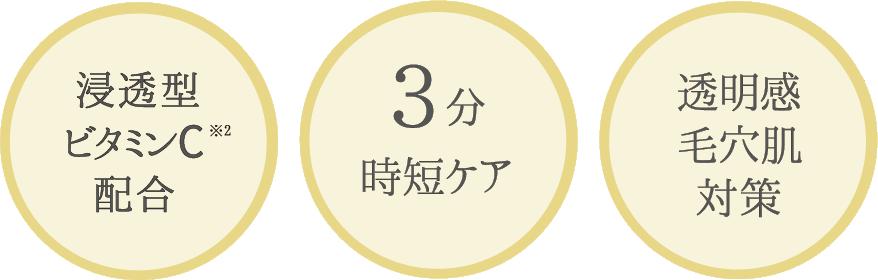 浸透型ヒアルロン酸※1配合/3分時短ケア/深刻な乾燥肌ケアに